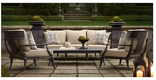 Best of outdoor furniture twin cities design scene for Restoration hardware outdoor dining