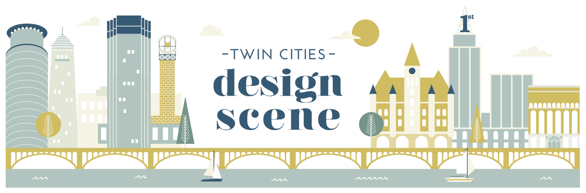 Twin Cities Design Scene Banner Logo
